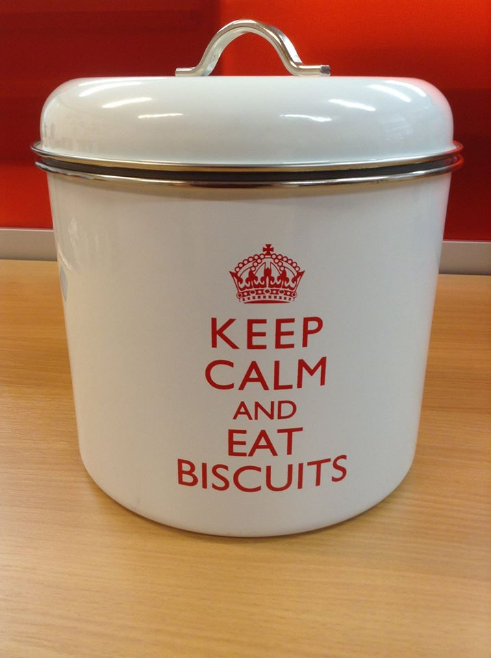 Our biscuit tin