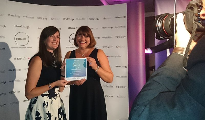 Cariad Wins Gold for Online Marketing