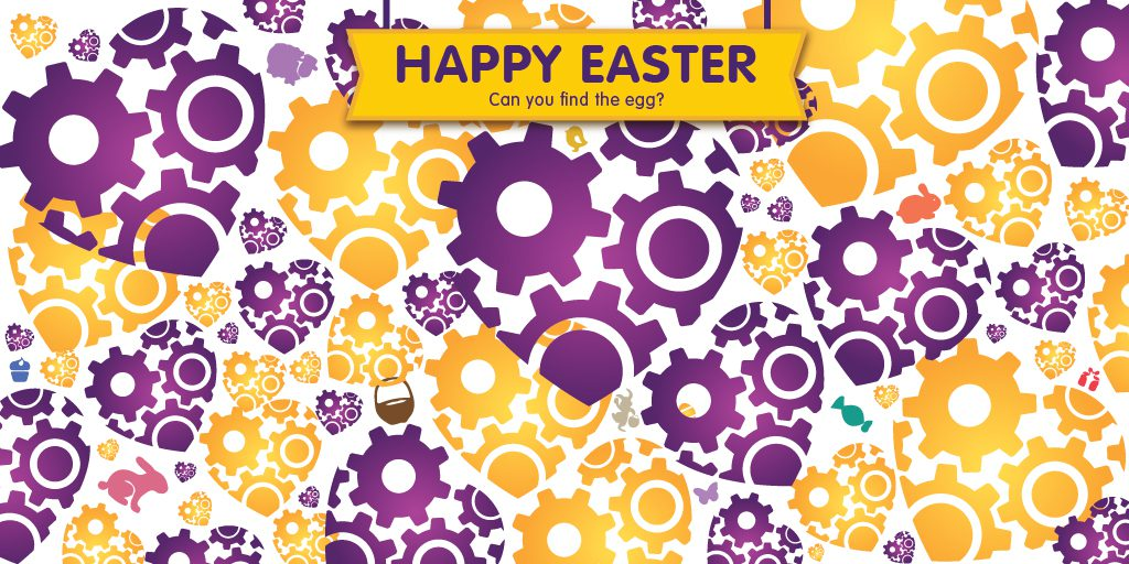 Happy Easter - Can you find the egg?