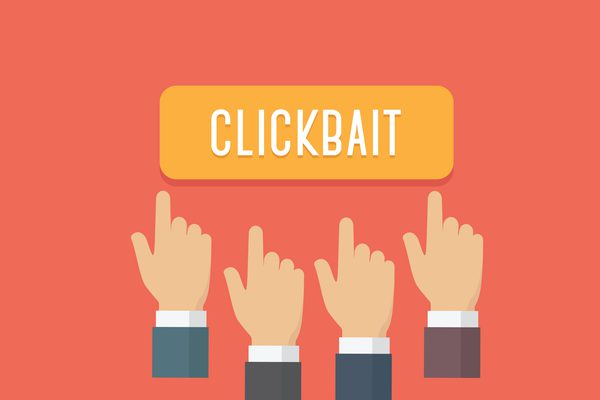 Clickbait, fake news & social media