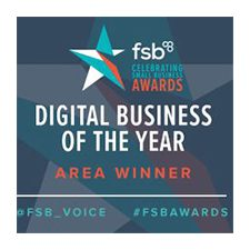 Digital Buiness of the Year Area Winner Logo