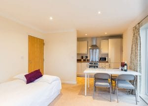service apartment in Hemel Hempstead.