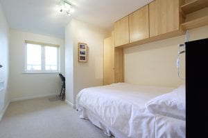 Second bedroom of luxury 2 bed Penthouse apartment to rent in Hemel Hempstead