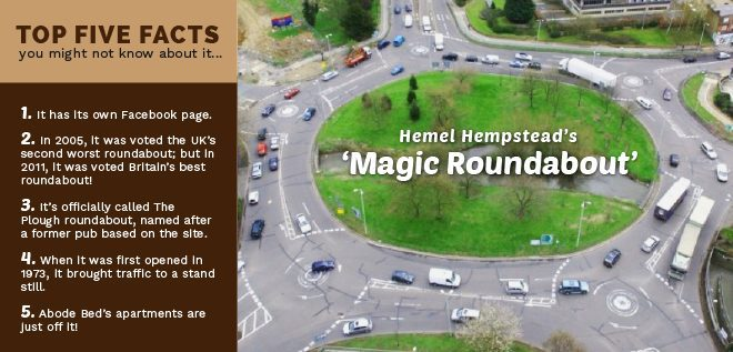 The Magic Roundabout Hemel Hempstead