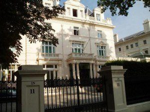 Sir Richard Branson Home, Kensington