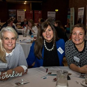 Mary Sykes and Attendees at Ambition 2017