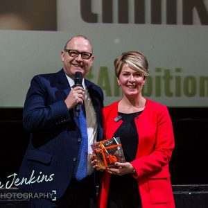 Jeremy Nicholas and Penny Haslam at Ambition 2017