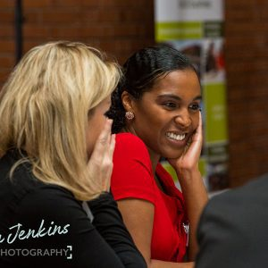 Networking at the Ambition sales and marketing conference 2017