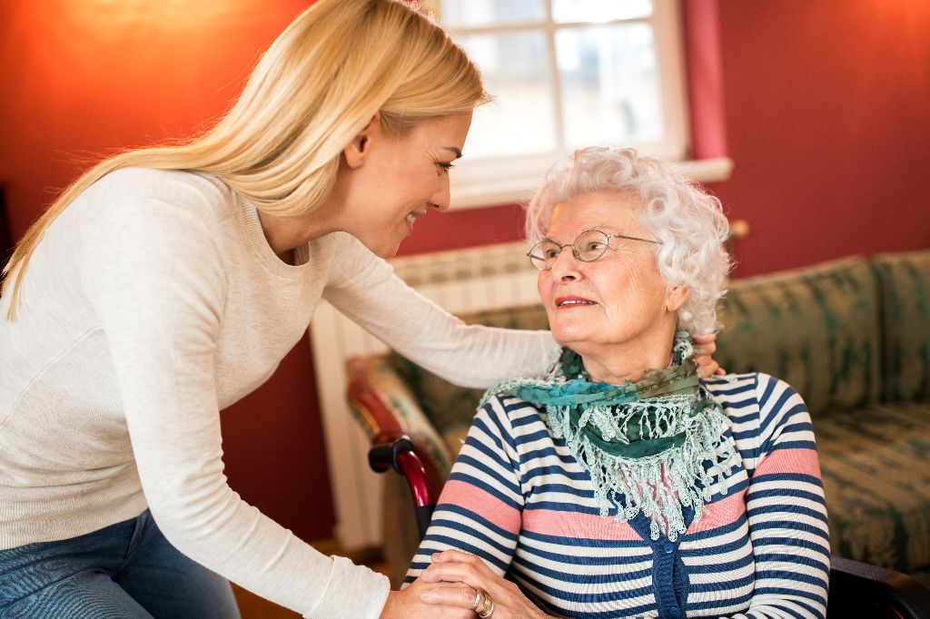 home help domiciliary care worker