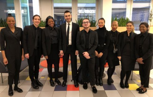 artisan people team in selfridges