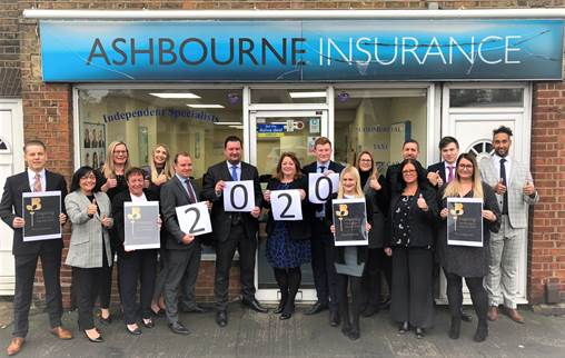 Hoddesdon based Ashbourne Insurance proud sponsor of the Inspiring Herts Business Awards 2020