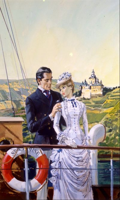 Sailing to love by Barbara Cartland