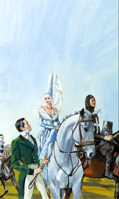 Riding In The Sky by Barbara Cartland
