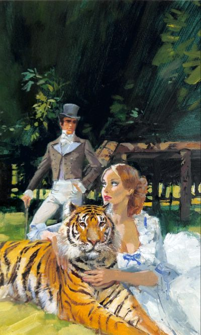 Theresa and A Tiger by Barbara Cartland
