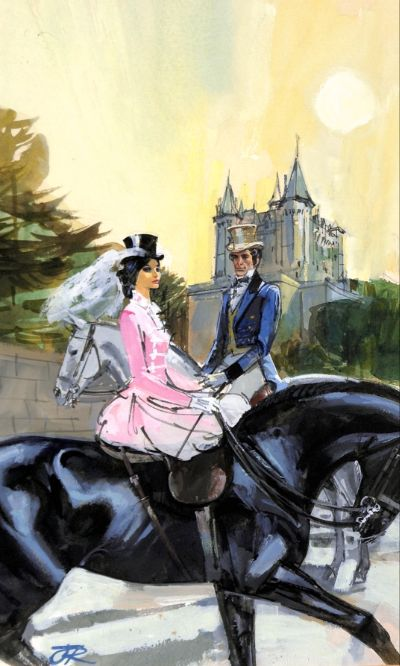 Love At The Tower by Barbara Cartland