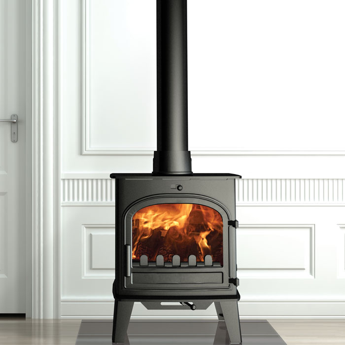 Cleanburn Lovenholm Traditional smoke control stove