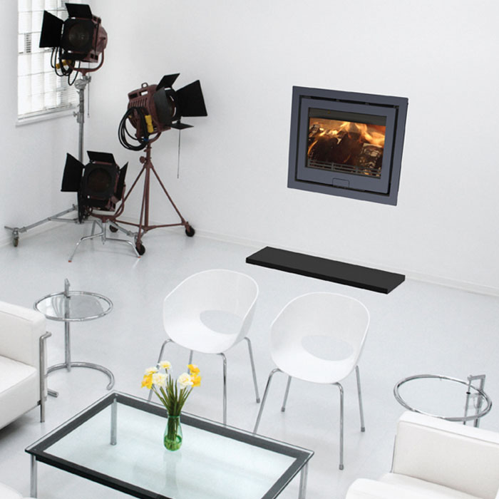 Di Lusso R6 4 Sided inset stove