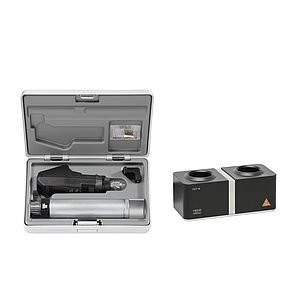 BETA200 Retinoscope Sets with BETA 4 NT Rechargeable Handle with NT 4 Table Charger (BETA200 Streak Retinoscope in XHL, 1x spare bulb and a hard case) 3.5V XHL C-034.23.420