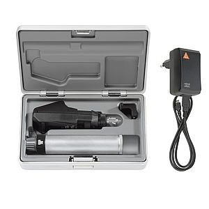 BETA200 Retinoscope Sets with BETA Battery Handle with USB cord and plug-in Power Supply (BETA200 Streak Retinoscope in LED and a hard case) LED C-034.28.388
