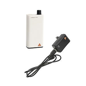 HEINE® mPack mini with Li-ion rechargeable battery and E4-USB plug-in transformer X-007.99.650