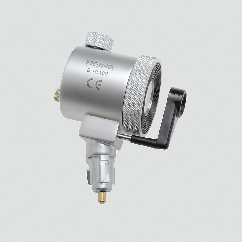 2.5v XHL HEINE Anoscope / Proctoscope Illumination Head Only (swivel lens and viewing window supplied separately)