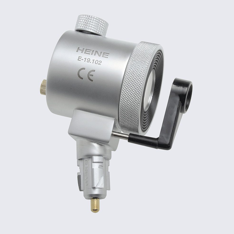 3.5v XHL HEINE Anoscope / Proctoscope Illumination Head Only (swivel lens and viewing window supplied separately)