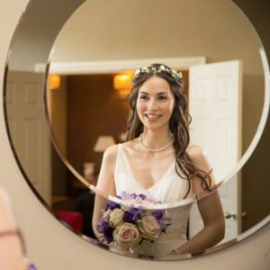 bride styles for long hair