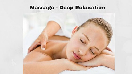massage to deep relaxation
