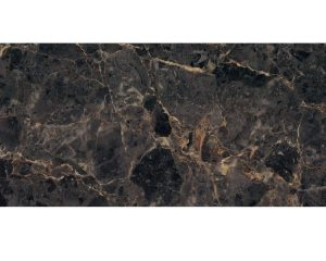 Black Marble Polished Glass Tile