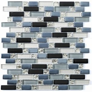 HT Mosaics 30066 Various  Glass Tile