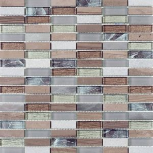 HT Mosaics 30210 Various  Glass Tile