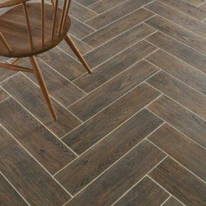 Coral Dark Brown Matt Porcelain Tile