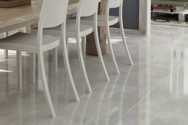 Look Perla light grey Porcelain tile