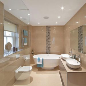 Spring, bathroom design
