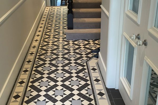 Bold Patterned Tiles, for your hallway