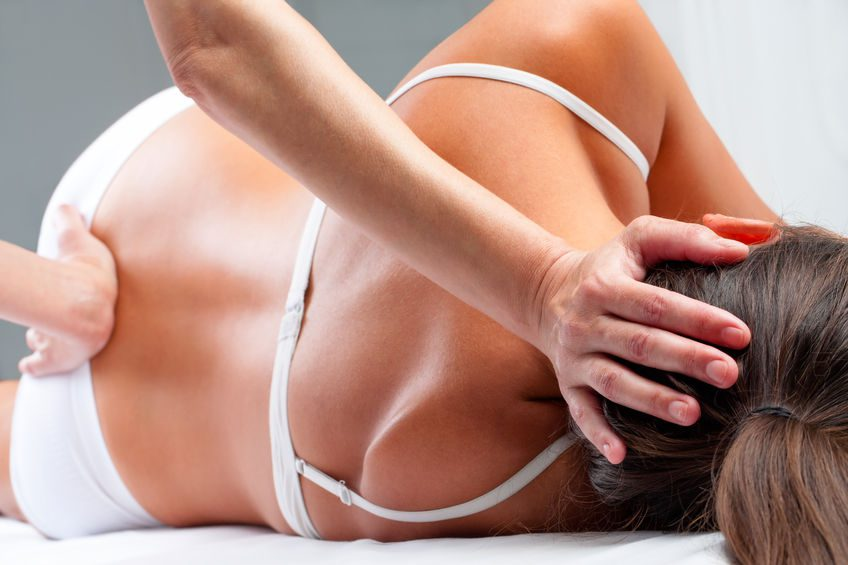 women massage and rehabilitation exercise in hertford