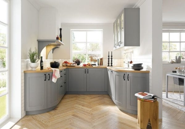 C Range Agate Grey Silk Gloss Kitchen