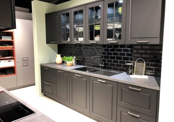 C Range Onyx Black Matt Anti Fingerprint Kitchen