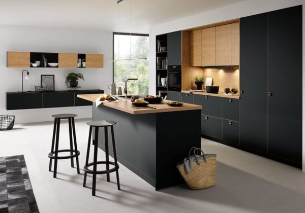 C Range Onyx Black Matt Kitchen