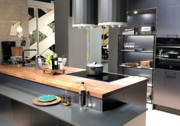 C Range Titanium Metallic Kitchen