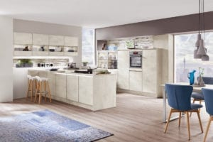 Budget Friendly Affordable Kitchen: Solid Wood Affordable Worktops. Budget Kitchen Appliances. New Kitchen Shaker Style.