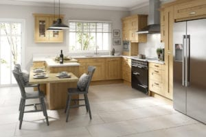 Solid Wood New Kitchen: Affordable Dream Kitchen. Budget Kitchen Appliances. Affordable & Good Quality Units. Affordable Kitchen Range.