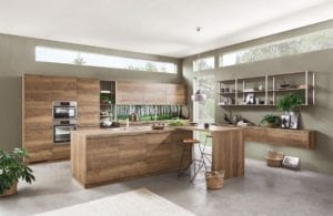 Open Shelving Affordable Kitchen Cabinets: Budget Friendly Shaker Style New Kitchen. Good Quality & Affordable Kitchen Range.