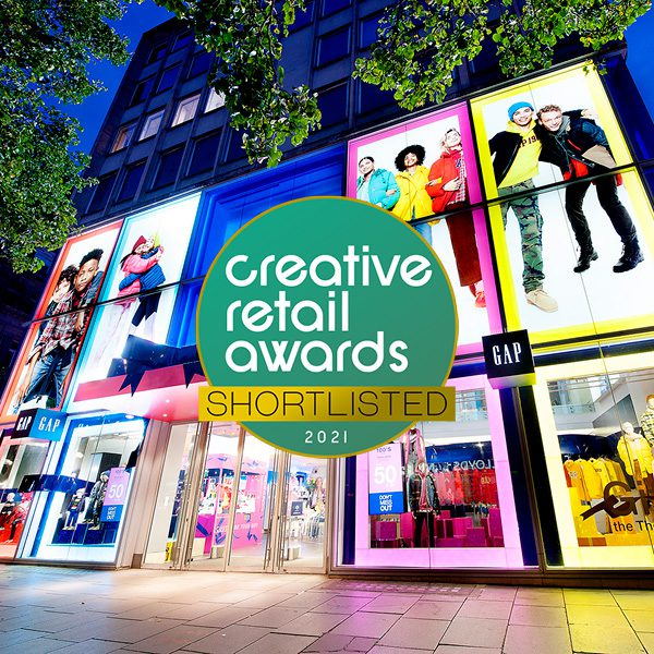 We've been shortlisted in the Creative Retail Awards 2021!