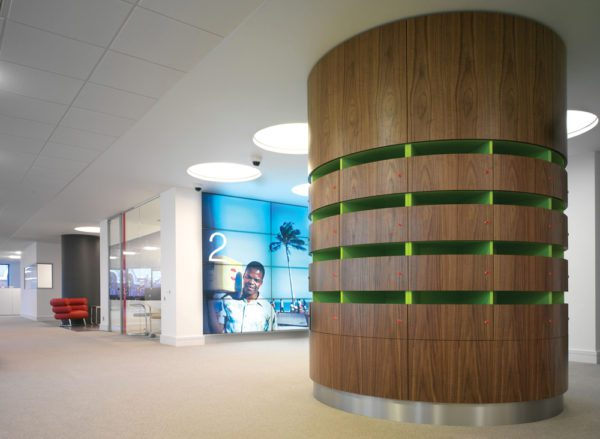sustainable materials for commercial interiors