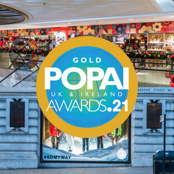 We scoop 2 GOLD awards at the POPAI Awards 2021!