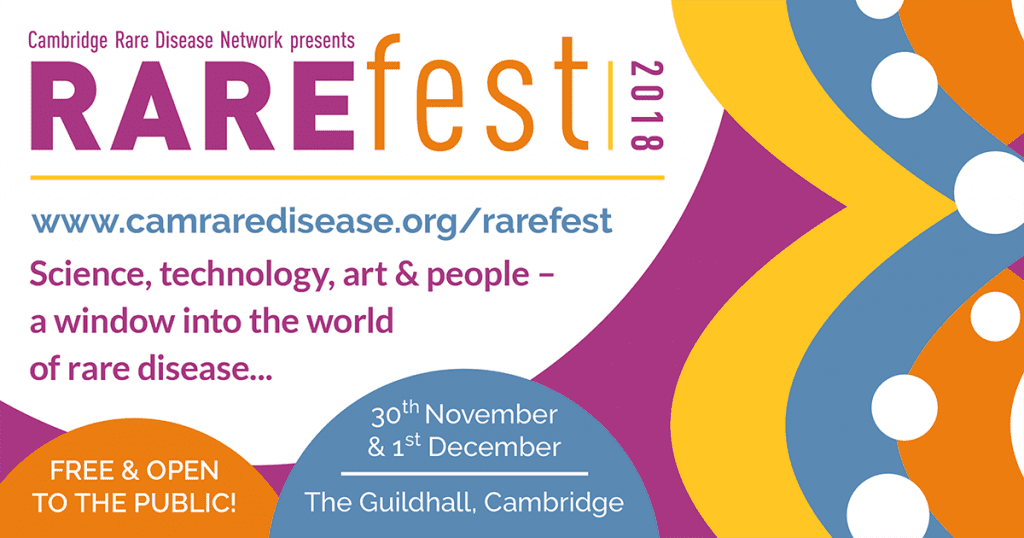 Cambridge Rare Disease Network - Muscle Help Foundation (MHF) proudly supports RAREfest18 spotlighting rare conditions 3