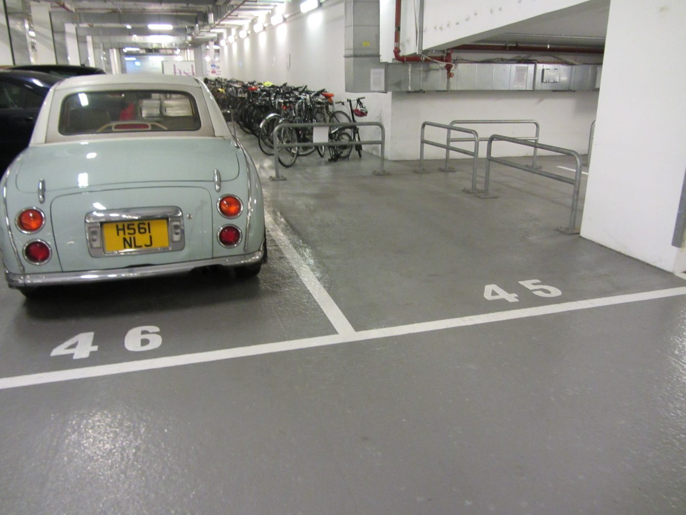 Home office car park