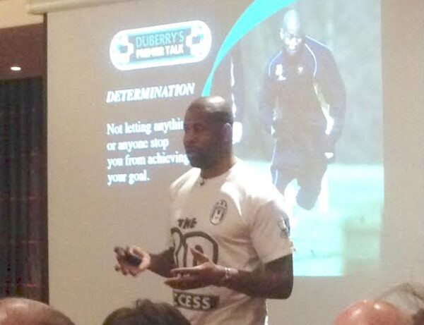 From Premier League football to premier presentations