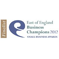"Finalist ""Enterprising Business"" 2012 – East of England Business Champions Award"